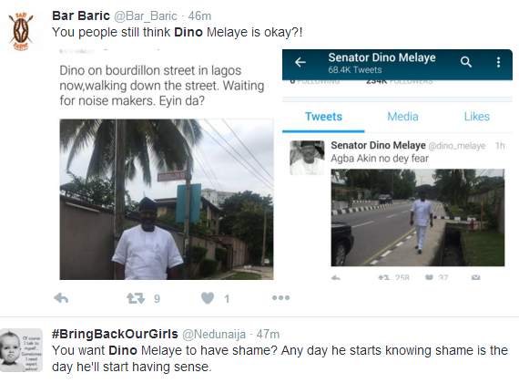 Nigerian Twitter Reacts To Dino Melaye's 'Invasion' Of Bourdillon Road