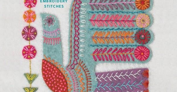 Nancy nicholson modern folk embroidery