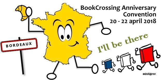Bookcrossing Anniversary Convention 2018 Bordeaux