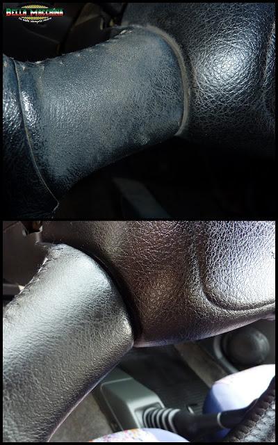 renovacion de cuero del volante