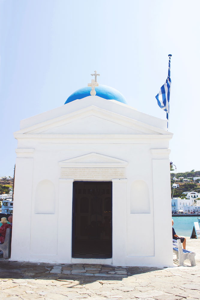 Beautiful Travel Architecture Building Photography | Mykonos, Greece Church
