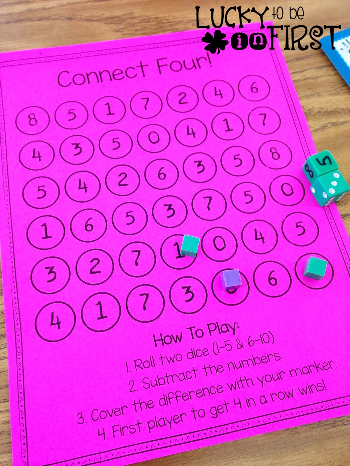 My Favorite Free 1st Grade Math Centers