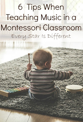 6 Tips When Teaching Music in a Montessori Classroom