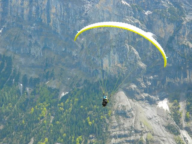Paragliding em Lauterbrunnen