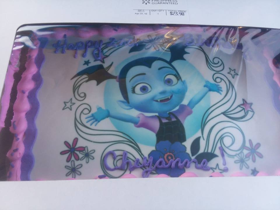 Astonishing Vampirina Birthday Ideas Chitchatmom Personalised Birthday Cards Sponlily Jamesorg