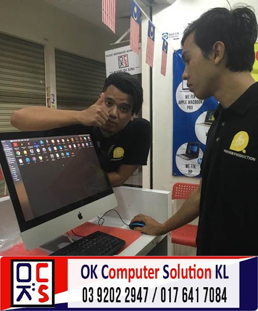 [SOLVED] MASALAH OPERATING SYSTEM (OS) iMAC | REPAIR LAPTOP CHERAS 7
