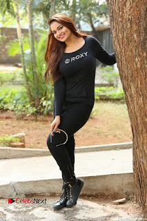 Actress Aswini Latest Stills in Black Denim Jeans  0167.JPG