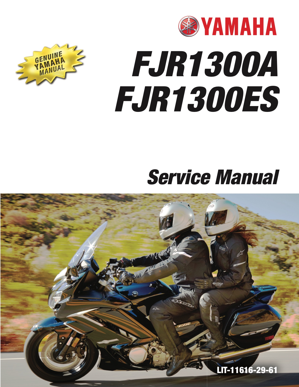Yamaha Fjr1300a Fjr1300es 2016 2019 Workshop Repair Service Manual