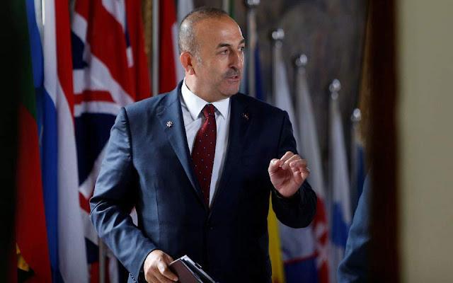 Τσαβούσογλου: Οι αμερικανικές κυρώσεις δεν θα έχουν αποτέλεσμα