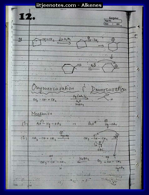 Alkenes Notes2