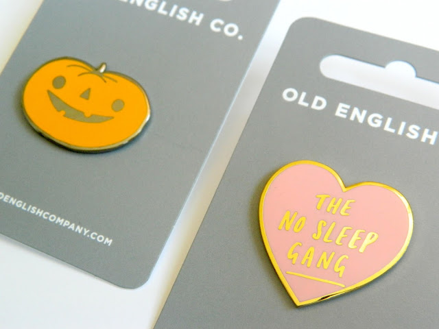 Old English Company- Enamel Pins