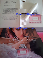 Logo In consegna campioni omaggio Miss Dior Absolutely Blooming
