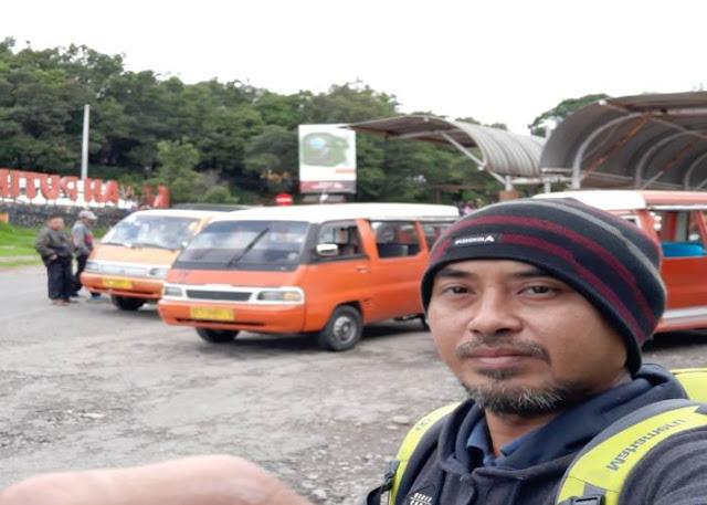 Harga Naik Kendaraan Ontang Anting di Kawah Putih Ciwidey Bandung