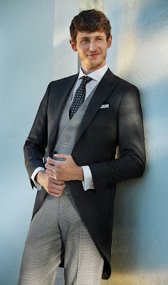 Nicolás Coronado, José Coronado, Paola Dominguín, TVE, Protocolo, Protocolo Novios, trajes de novio, trajes de boda, bodas, chaqué,
