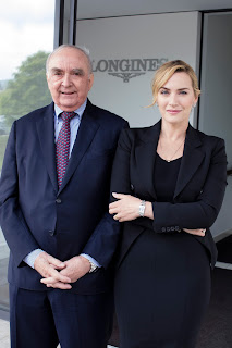 浪琴表優雅大使凱特.溫斯蕾 蒞臨瑞士聖米爾參觀浪琴表總部