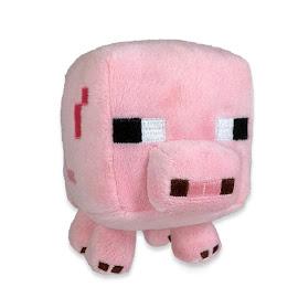 Minecraft Jazwares Pig Plush
