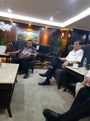Gesa Pembangunan Sulut, Gubernur Olly Sambangi Menko Luhut
