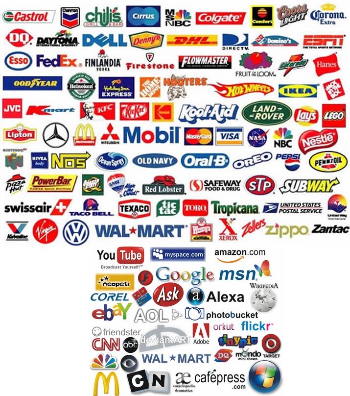 gallery logo famous logos