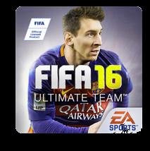 لعبة كرة القدم فيفا FIFA 16 مهكرة للاندرويد