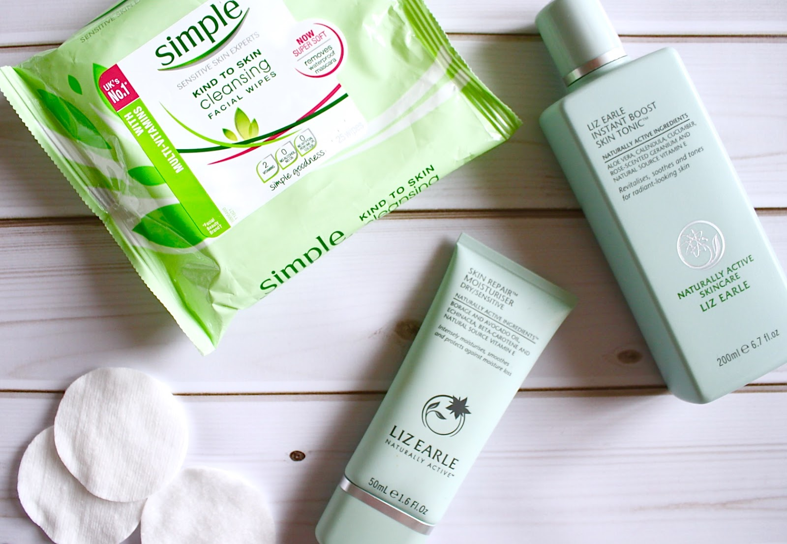Skincare for sensitive skin