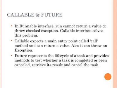 Callable and Future Example in Java