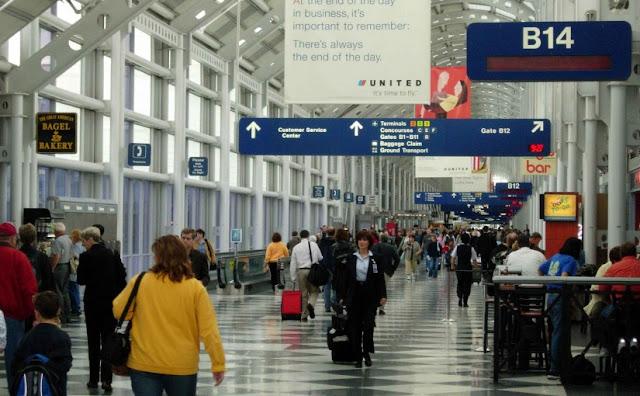 Aluguel de carro no aeroporto de Chicago