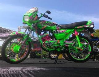 ajang kontes Yamaha RX King
