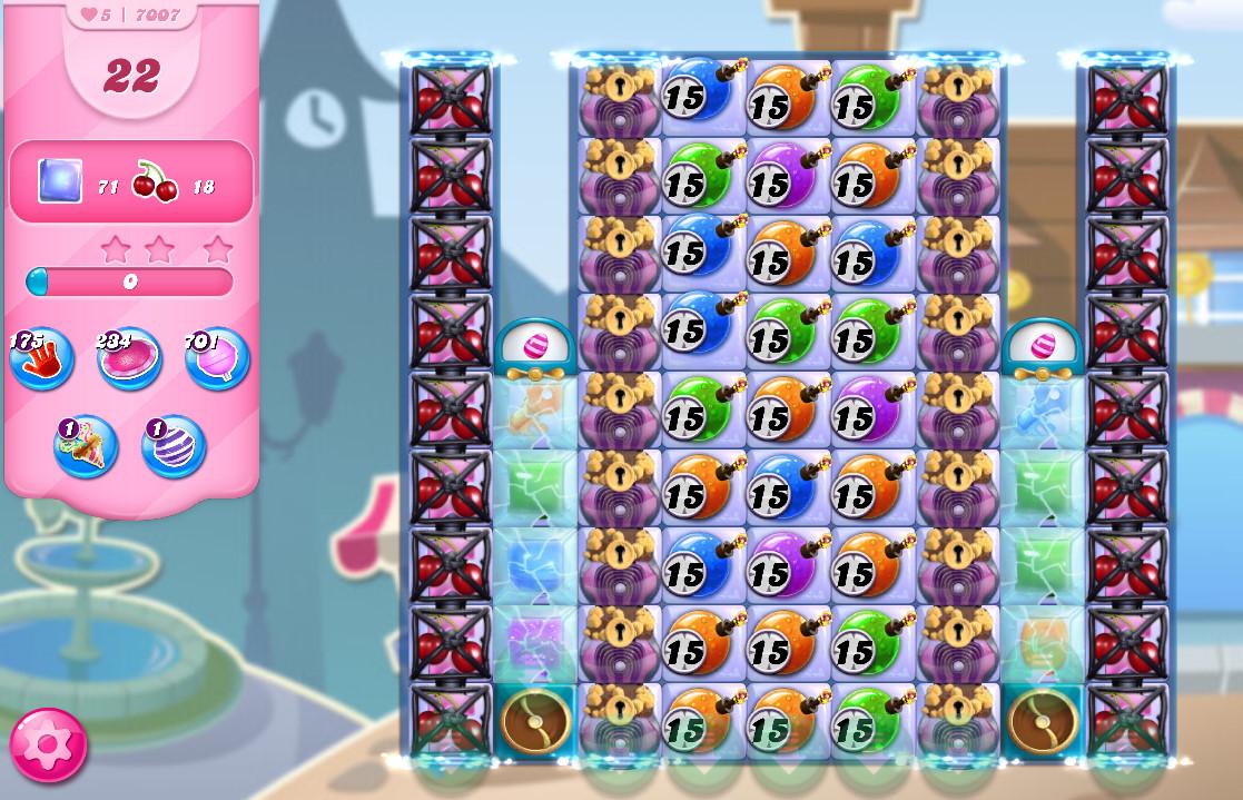 Candy Crush Saga level 7007