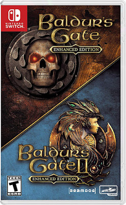 Baldurs Gate Enhanced Edition Game Cover Nintendo Switch