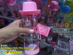 Botol Minum Hello Kitty Tutup Topi