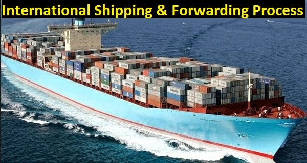 International shipping and forwarding process