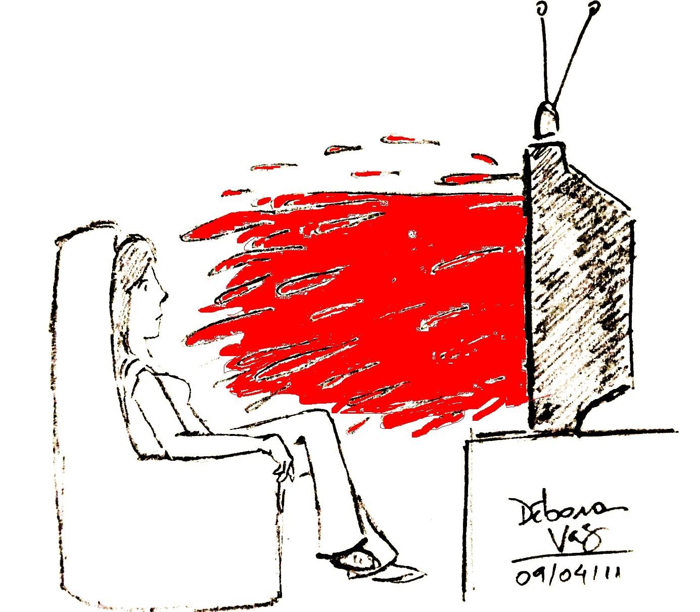 712ee295ce A crescente espetacularização da violência nos meios de comunicação  (telejornalismo)