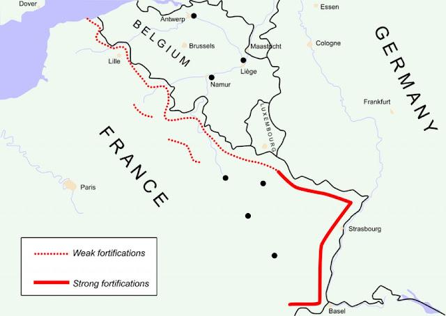 www.fertilmente.com.br - A linha Maginot foi uma das mais custosas e infelizes decisões militares dos Franceses, gastou recursos e deu a falsa impressão de segurança.