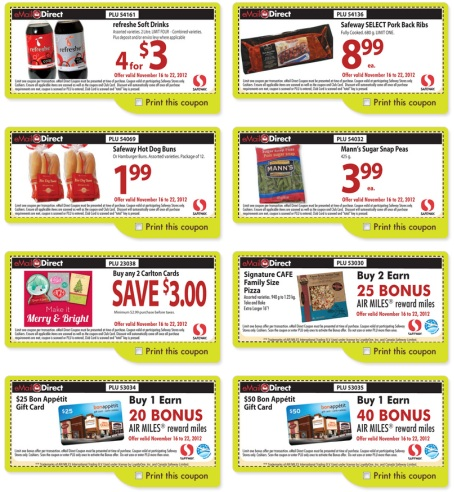graphic regarding Safeway Printable Coupons known as Canada safeway coupon codes electronic mail / Cherry discount coupons