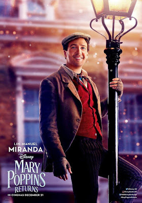 EL REGRESO DE MARY POPPINS - cartel Lin-Manuel Miranda