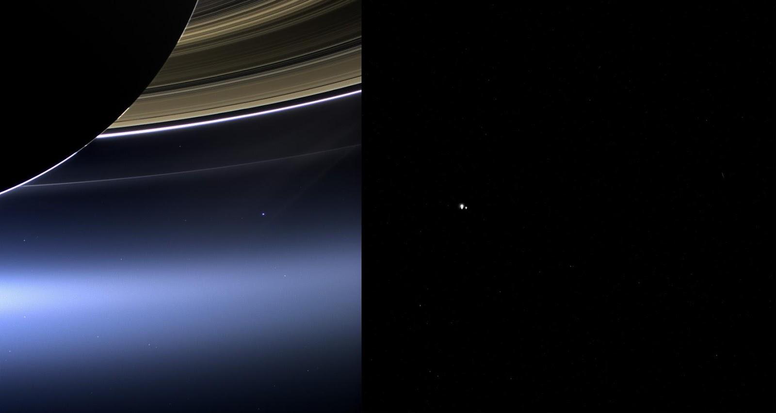 Cassini Pale Blue Dot Wallpaper (page 3) - Pics about space