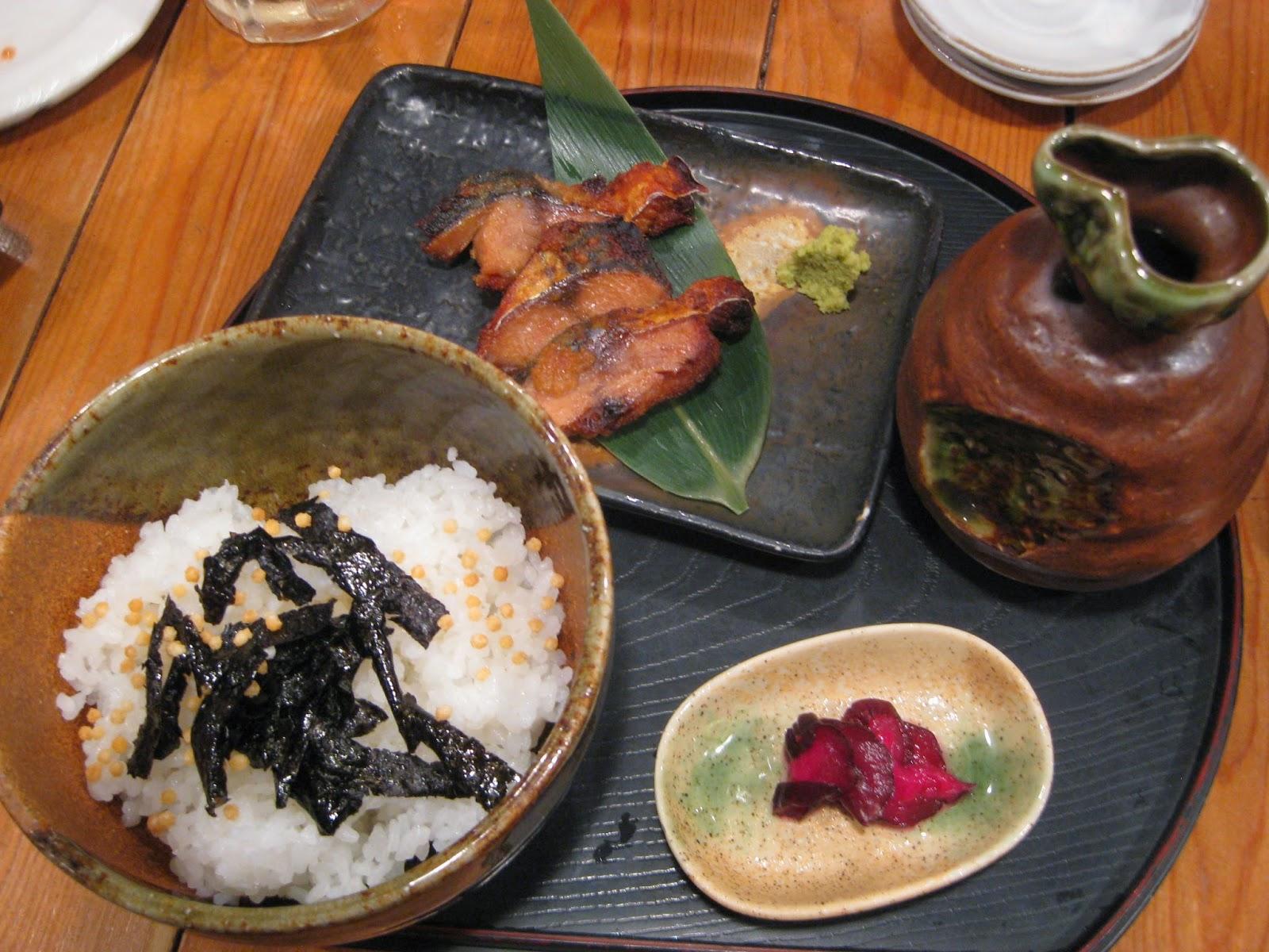 Kyoto - Grilled salty mackerel