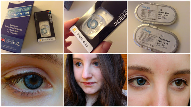 Review: Coloured Contacts Hut Prescription Lenses