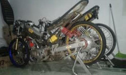 Kenapa Motor Drag Cuma Rangka Besi Berikut Penjelasannya
