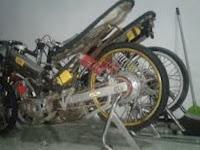 Kenapa Motor Drag Cuma Rangka Besi ? Berikut Penjelasannya