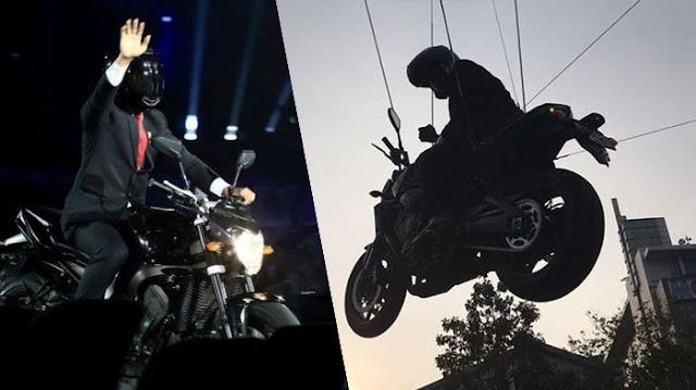 Pakai Stuntman, Iwan Sumule: Jokowi Berikan Simbol Dirinya Ingin Diganti Jadi Presiden