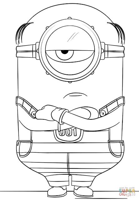 baú da web meu malvado favorito 3 desenhos para colorir