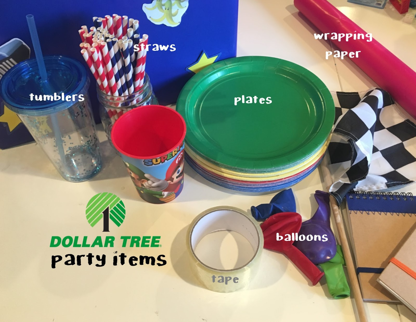 Dollar Tree Birthday Items