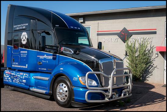 Stewart Transport Truckers Against Trafficking Everyday Heros 2019 Kenworth T680