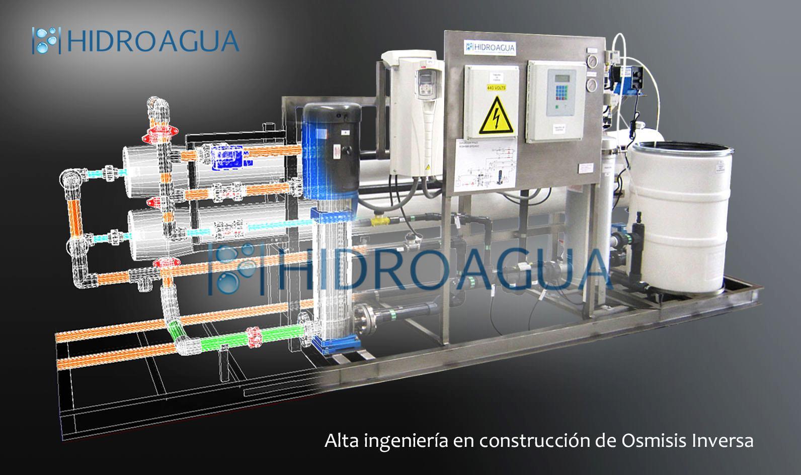 Hidroagua osmosis inversa for Equipo de osmosis inversa
