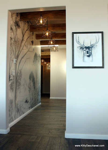 deer artwork for rustic decor