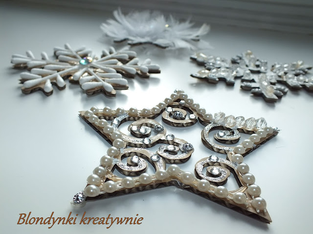 ŚNIEŻYNKI- czarujące dekoracje