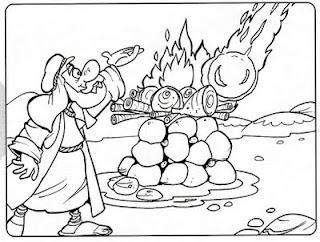 Dibujo De Elias Para Colorear Dibujos Infantiles Imagenes Cristianas