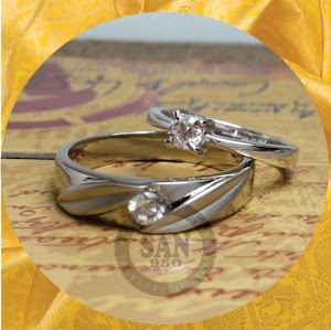 cincin kawin perak p5861