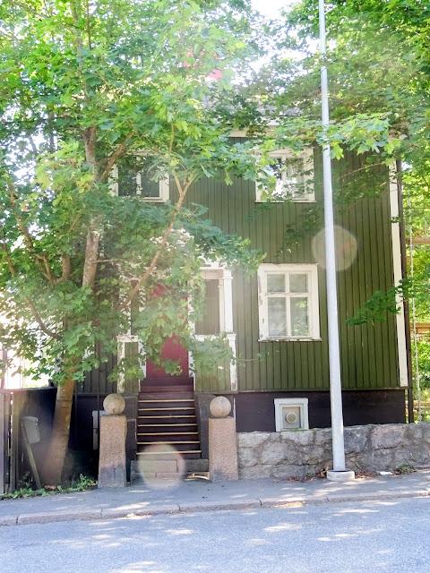 Suomalaisia rakennuksia, arkkitehtuuri, kesä, vanha arkkitehtuuri,